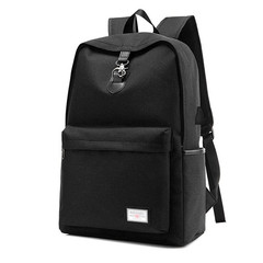 GIHG Fashion Design USB Charge Anti-theft Travel Backpack Outdoor Hiking School Bag black one size