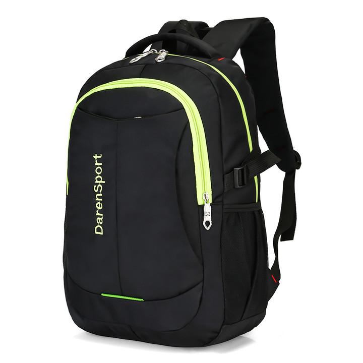 GIHG Men Backpack Business Men Laptop Bag Large Capacity Travel Backpack College Student School Bags green 45cm* 32cm *16cm