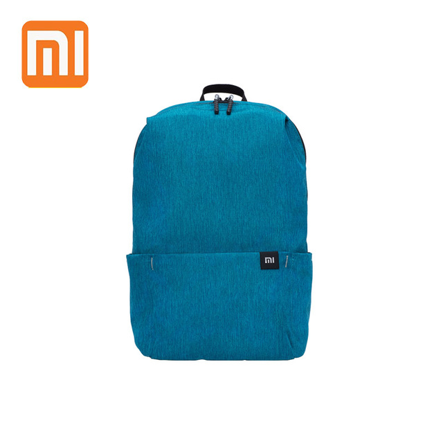 GIHG Colorful Mini Backpack Bags for Women Men Water Resistant Lightweight Portable Bag blue one size