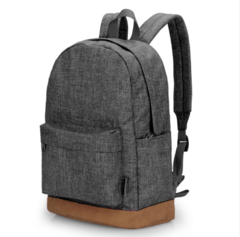 GIHG Men Canvas Backpack Casual Rucksacks Laptop Backpacks College Student School Bag Backpack gray one size