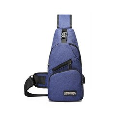 GIHG Men's Crossbody Bag Outdoor Sling Shoulder Bag Phone Bag Chest  Men Backpack Laptop Backpack blue one size