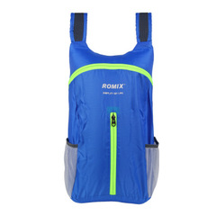 Portable Outdoor Bags Travel Folding Backpack Light And Durable Bag blue one size