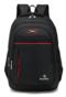 Simple Men's Backpack Wild Waterproof Leisure Travel Bag black one size