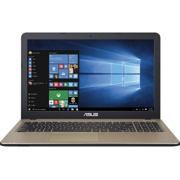 Asus R540L Notebook Laptop: Intel Core i3, 4GB/500GB, 1.7 GHz Windows 10 (No odd) - Silver, 15.6 Inch