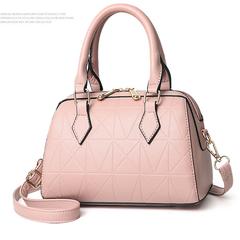 Stylish new shoulder cross-body handbag from spring/summer 2019 OL pink 26*13*15(cm)