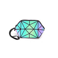 KIKO Women's bag Cosmetic bag Korean fashion luminous stone pattern luminous color changing 01
