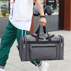 Duffle&Gym Bag big capacity simple waterproof gray 60*24*31