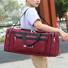 Duffle&Gym Bag large capacity sports travel red 58*24*32