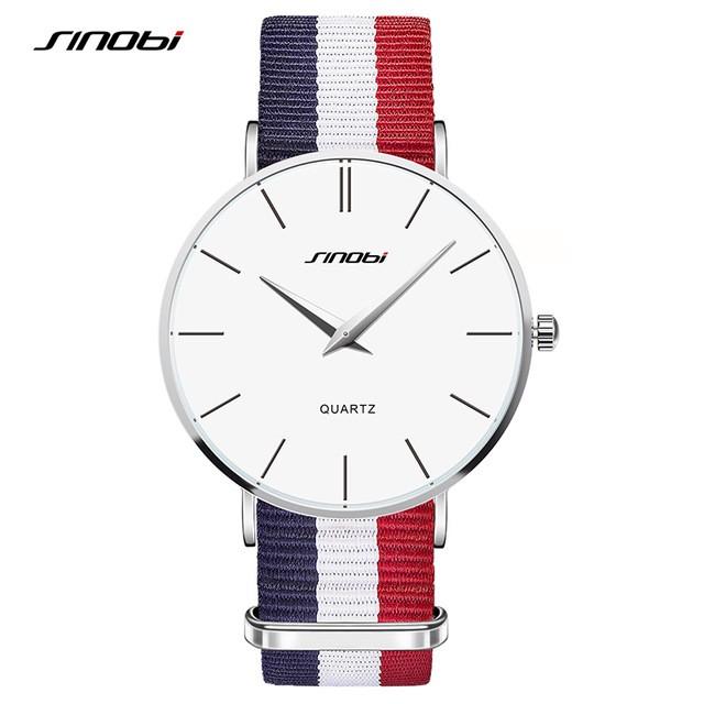 Classic Cambridge Wrist Watch Men's Slim Quartz Watch Designer Males Fashion Wristband Clock