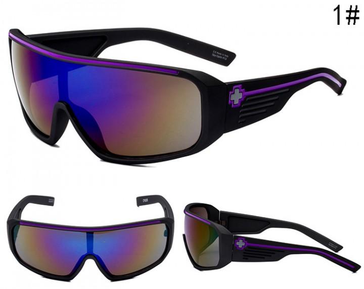 Sport Sunglasses Men Reflective Coating Square Sun Glasses Women Brand Designer 1 SPY-12