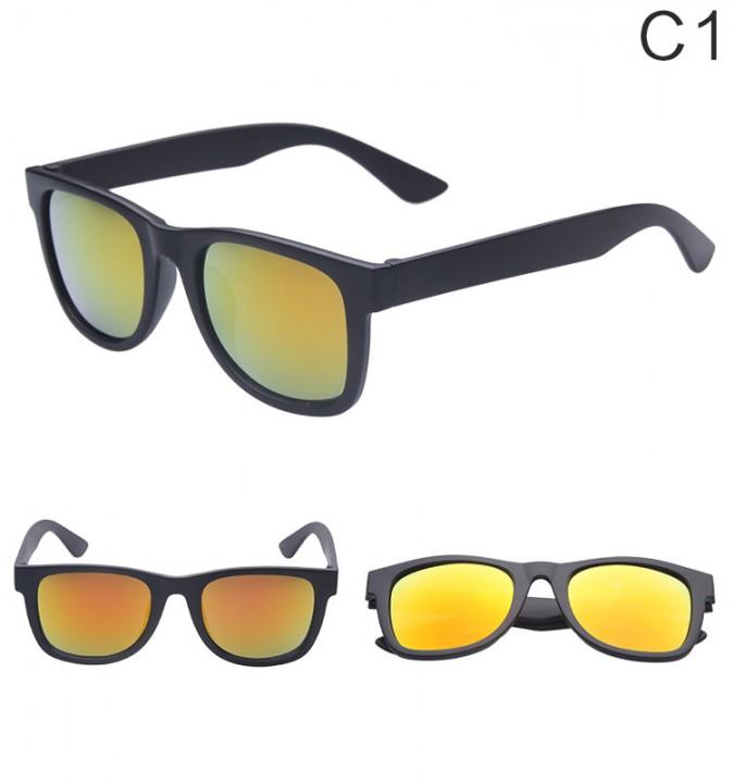 Sport Sunglasses Men Reflective Coating Square Sun Glasses Women Brand Designer 1 LEN1080