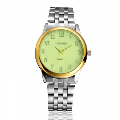 2017 New Fashion  Watch Steel Automatic Stylish Classic  Wristwatch waterproof watch Silver