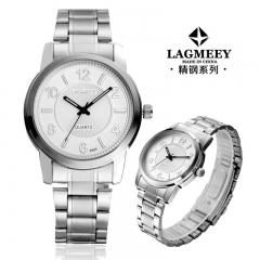 2017 New Fashion  Watch Steel Automatic Stylish Classic  Wristwatch waterproof watch White