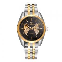 2017 New Fashion  Watch Steel Automatic Stylish Classic  Wristwatch waterproof watch NO.1