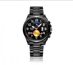 FOTINA Luxury Brand BOSkK Casual Maschile Orologi Al Quarzo Sport Militare Impermeabile Orologio NO.1