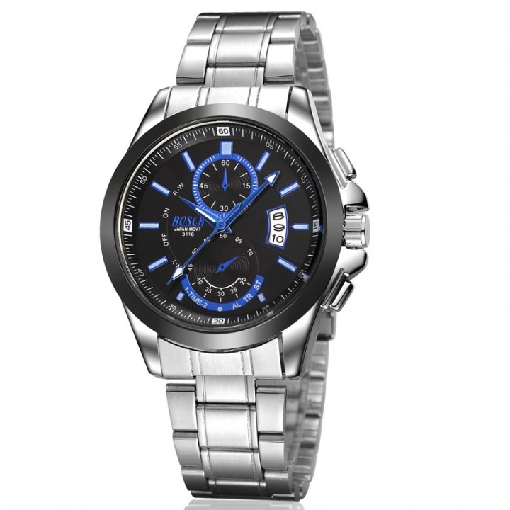 Men watch Luxury Brand Watches Quartz Clock Fashion belts Watch Cheap wristwatch waterpoor Black