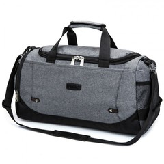 New Travel Bag Large Capacity Men Hand Luggage Travel Duffle Bags Nylon Weekend Bags grey 51*23*27cm