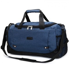New Travel Bag Large Capacity Men Hand Luggage Travel Duffle Bags Nylon Weekend Bags navy blue 51*23*27cm