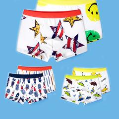 2pcs/lot Boys Underpants Cotton Boxer Shorts Children's Cotton Clothing Kids For Pants N33 110