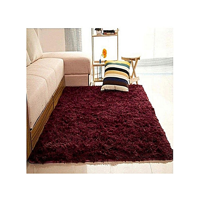 Soft Fluffy Carpet - Maroon 5*8