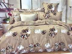 4 Pcs of Duvet Set ( 1 Duvet, 2 Pillow cases and 1 Bed-sheet ) Multicolour Multicolored 5*6