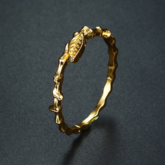 Exquisite Women's 18K Solid Yellow Gold Yellow 6