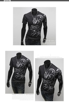 Hot New 2019 Fashion Brand T Shirts for Men. black s OTHER