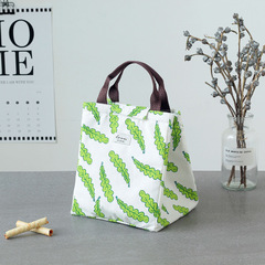Lunch bag thermal bag For Women Kids Men Canvas Box Tote Bags Thermal Cooler Food Lunch Bags green one size