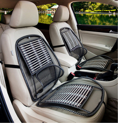 Universal Auto Seat Cover  Waist Rest Massage Cushion Breathable Cool Steel Wire car Accessories As picture 1PCS