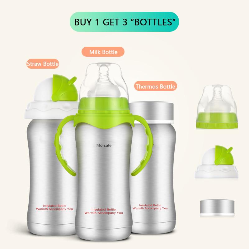 6ab4c34ef ... Stainless Steel Feeding Nipple Insulation Cup Vacuum Flask Milk Bottle  Green 240mL  Product No  11865639. Item specifics  Seller SKU YMB-02  Brand