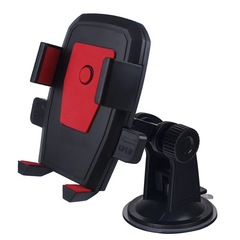 Car Phone Holder Mobile phone stand Automobile windshield instrument cell phone  Mount support red one size