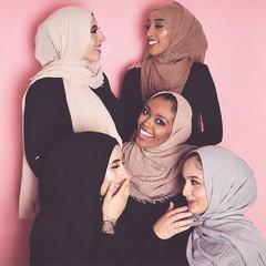women muslim crinkle hijab scarf femme musulman soft cotton headscarf islamic hijab shawls and wraps 30#