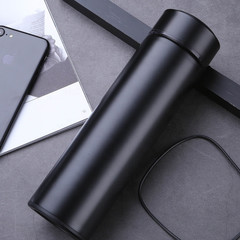 500ML vacuum flask 304 stainless steel portable vacuum business doubleInsulation cup black 500ml
