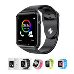 A1 Smart Watches SIM/TF Bluetooth Sport WristWatch Smartwatch with Camera black one size