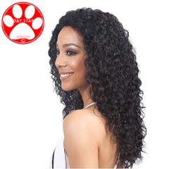5 Color Synthetic Wigs New Fashion Hair Wigs Women Wigs Hair Wave 24inch Small volume Long Headgear 118# Wine red 24 inch
