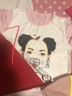 kid t-shirt  05 pink one siza