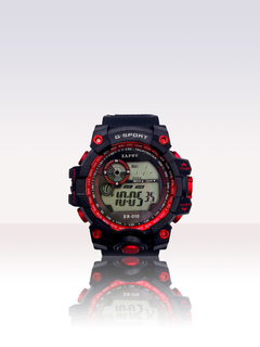 SHIELD-Men's Multifunctional Digital Waterproof Adult Children's Trend Outdoor Sports Smart Watch red one size