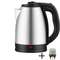 SCARLETT 2L 2000W Household Stainless Steel Electric Kettle Automatic Power Off Household Appliances silvery