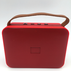 New Wireless Bluetooth Stereo Speakers.Radio.USB.TF.Sound Quality Is Good.Portable. Red One Size