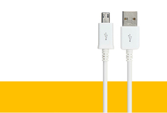 High Quality Cable.Charging Line.Apply To Android.85CM.Mobile Accessories white 85CM