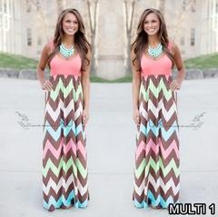 Sleeveless Round-collar Slim Dress.Gift: A Pair Of Short Stockings. m pink