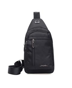 New Fashionable Men's Diagonal Bags, Canvas, Hot Sellers, Multi-function.Messenger&Shoulder Bags8904 black one size