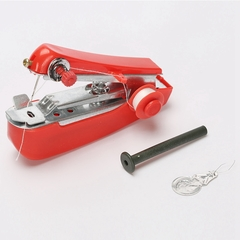 Multifunctional Household Manual Sewing Machine.Portable Small Sewing Machine.Home Textile red one size