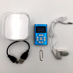 Fashion Portable MP3, Student, Adult General Purpose, Screen, Lithium Battery.TVs, Audio & Video blue