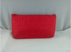 New Fashion Alphabet Printed Cosmetic Bag, Handbag, Receiving Bag, Waterproof, Travel.0045 red one size