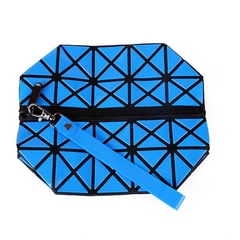 New Fashion Zipper Makeup Bag, Handbag, Receiving Bag, Waterproof, Travel, Foldable.0088 blue one size