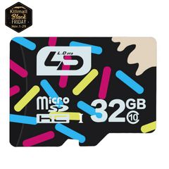 LD-16GB.32GB.Class 10.Version 3.0.Maximum Speed 80M/s.Smart Card.TF.Mobile Accessories as shown LD 16GB 80mb/s