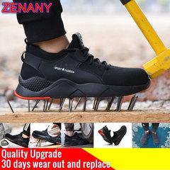 ZENANY Lowest Price Overfire Korean fashion men's sports shoes,sandals,casual breathable shoes men blcak 41