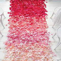 1000pcs Fake Petals Rose Wedding & Party Decorations Silk Petal Artificial Flowers Home Decor 2 5*5 cm approx for single petal
