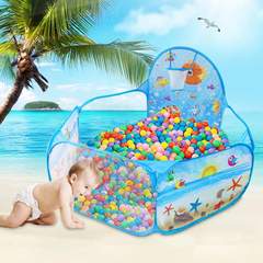 New Toys Tent Ocean Series Portable Pool Foldable Children Outdoor Sports Education Toy With Basket